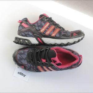 Adidas Thrasher 1.1 black pink trail running shoes